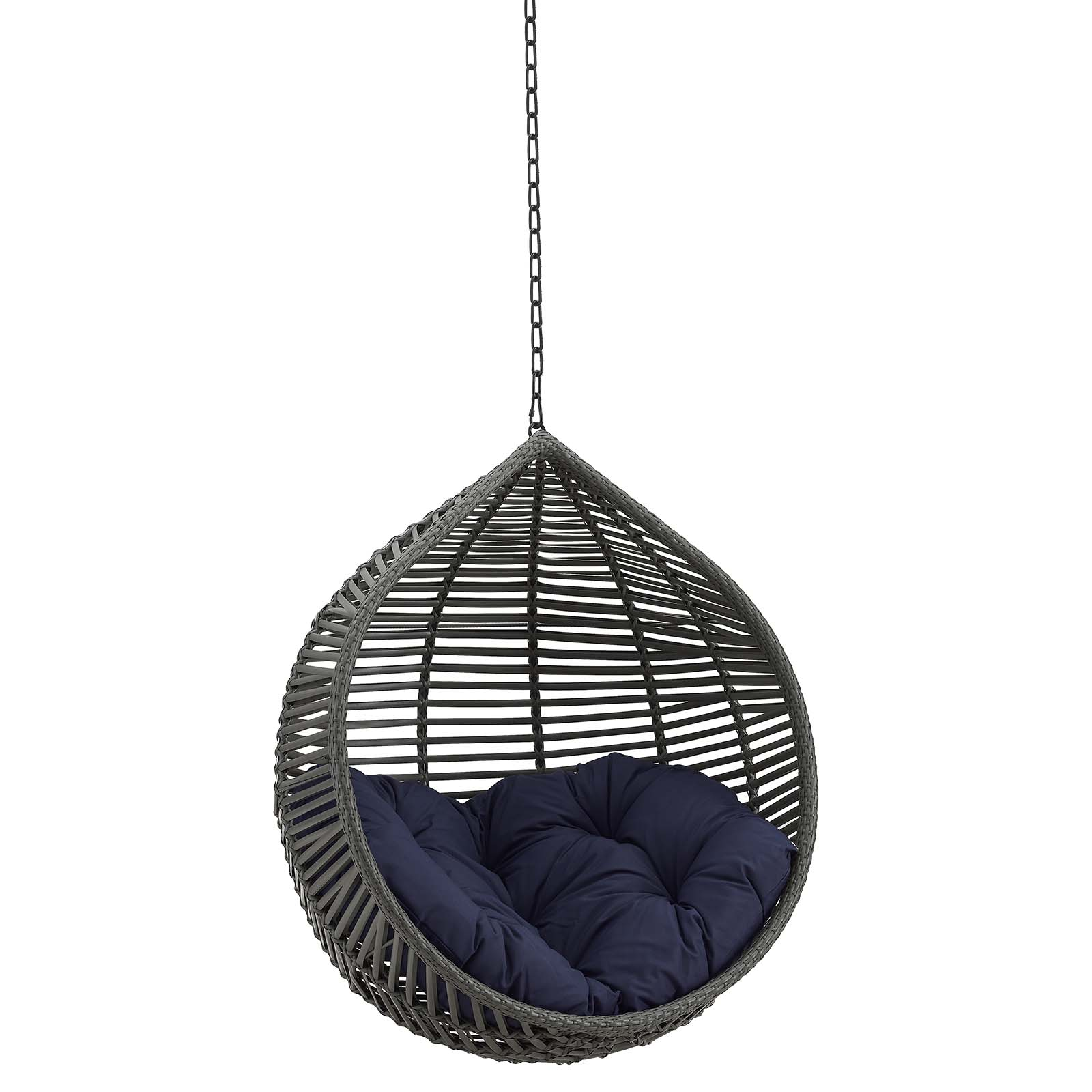 Garner Teardrop Outdoor Patio Swing Chair Without Stand ...