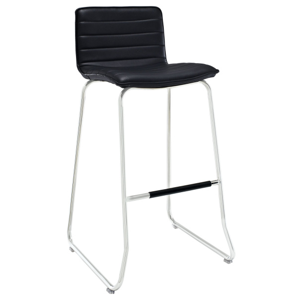 Dive Bar Stool Black