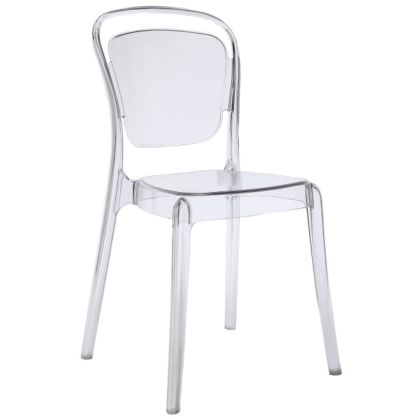 Entreat Dining Side Chair Clear