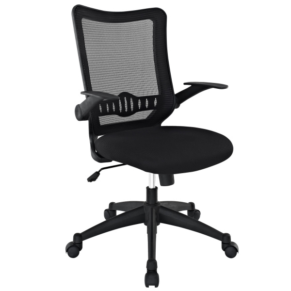 Explorer Mid Back Mesh Office Chair Black