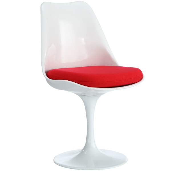 Lippa Dining Fabric Side Chair Red