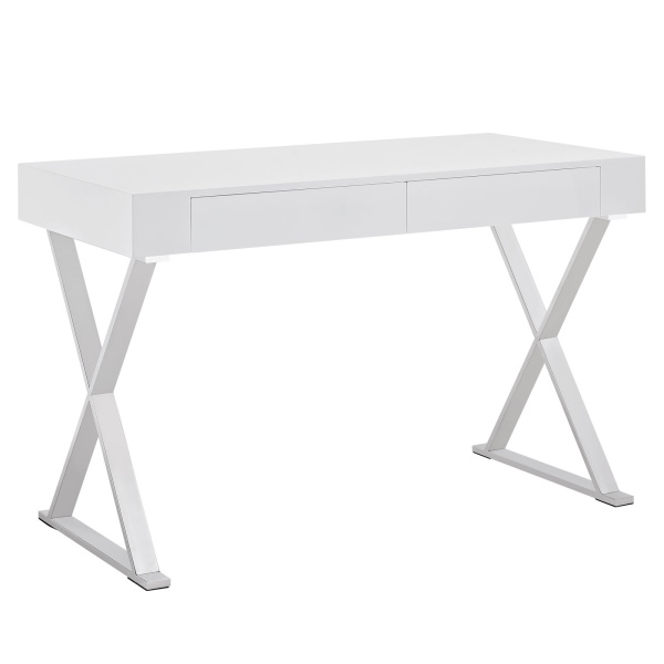 EEI-1183-WHI Sector Office Desk White