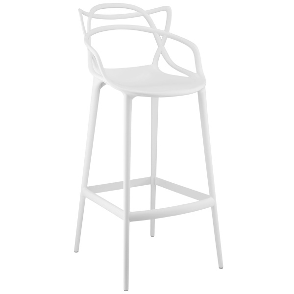 Entangled Bar Stool White