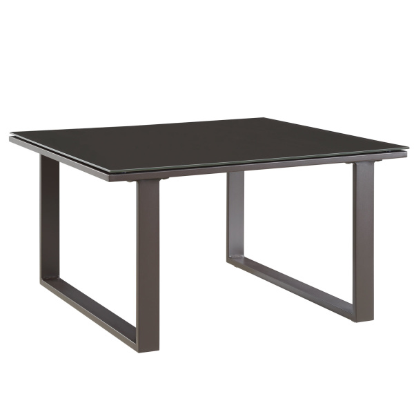 Fortuna Outdoor Patio Side Table Brown