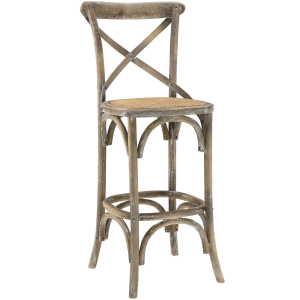 Gear Bar Stool Gray