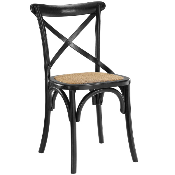 Gear Dining Side Chair Black
