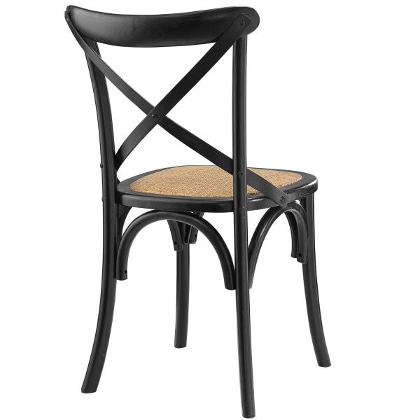 Gear Dining Side Chair Black