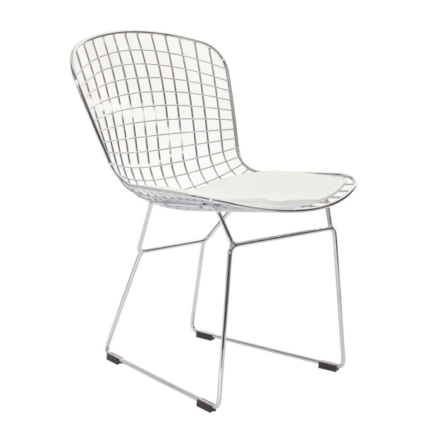 CAD Dining Side Chair White