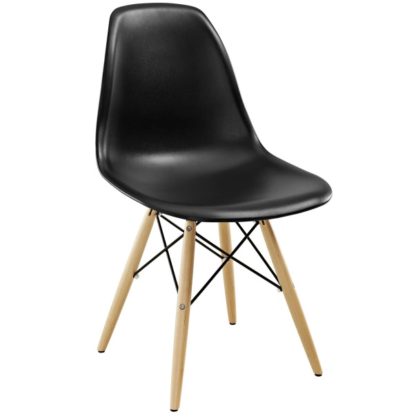 Pyramid Dining Side Chair Black