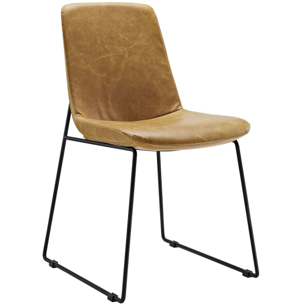 Invite Dining Side Chair Tan