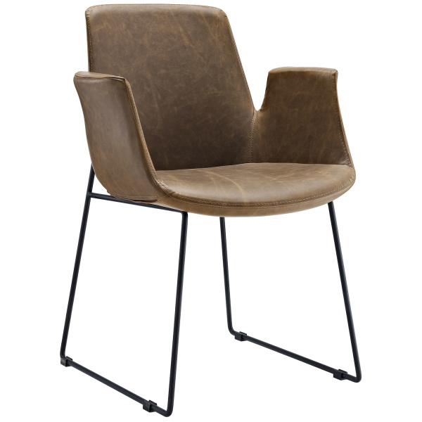 Aloft Dining Armchair Brown