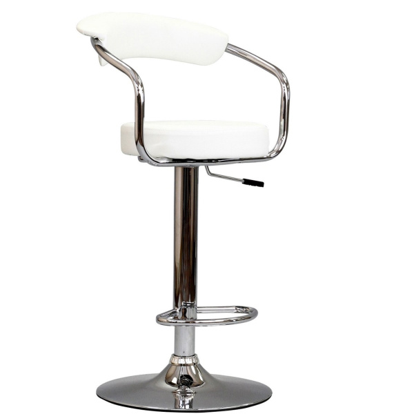 Diner Bar Stool White