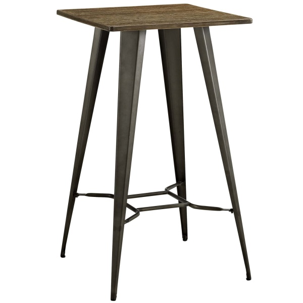 Direct Bar Table Brown