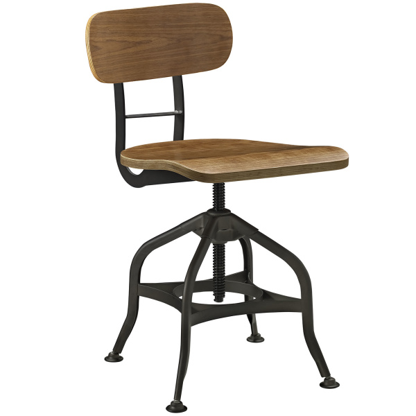 Mark Wood Dining Stool Brown