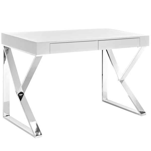 EEI-2047-WHI-SET Adjacent Desk White