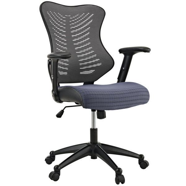 Clutch Office Chair Gray