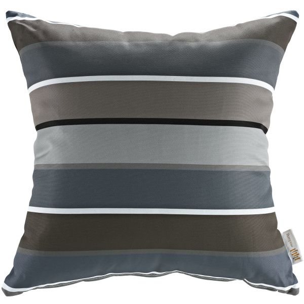 Modway Outdoor Patio Single Pillow Stripe