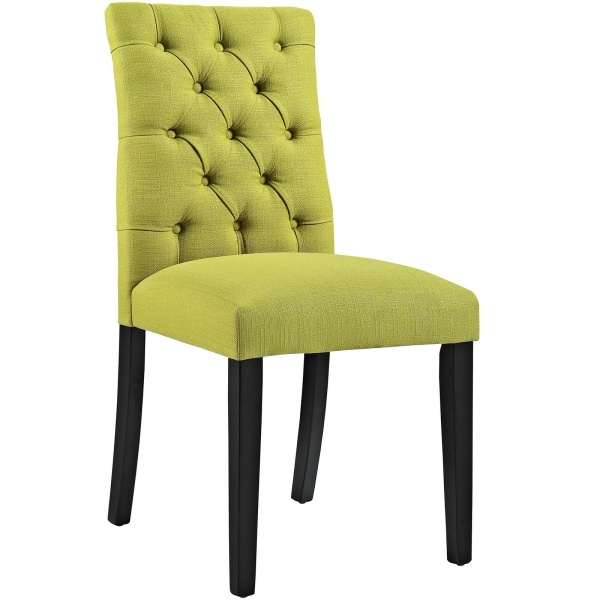 Duchess Fabric Dining Chair Wheatgrass