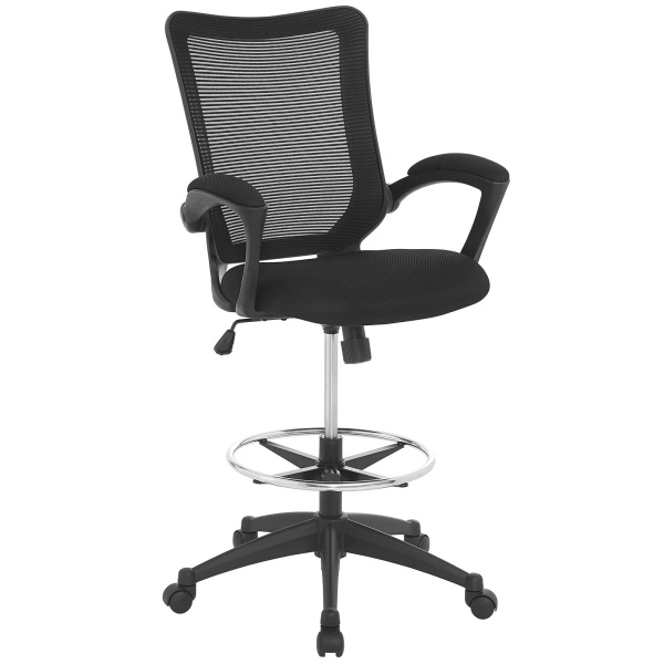 EEI-2287-BLK Project Drafting Chair Black