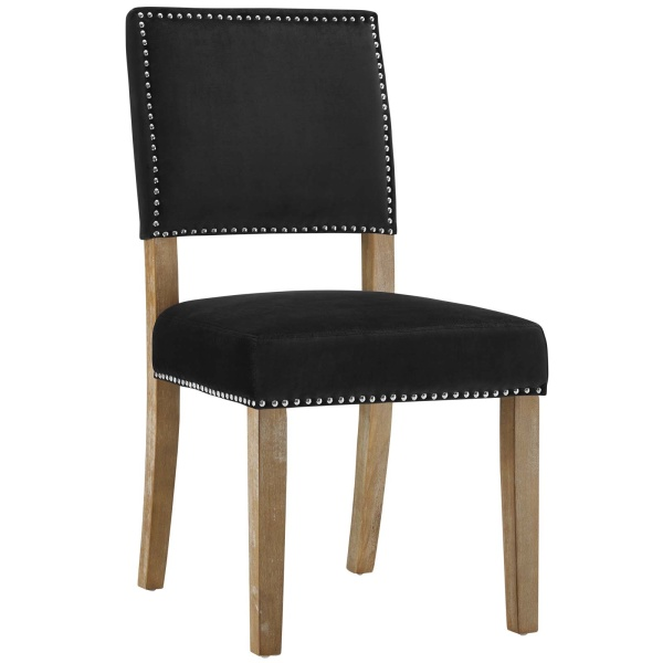 Oblige Wood Dining Chair Black