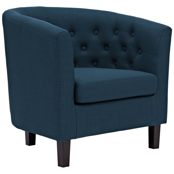 Prospect Upholstered Fabric Armchair Azure