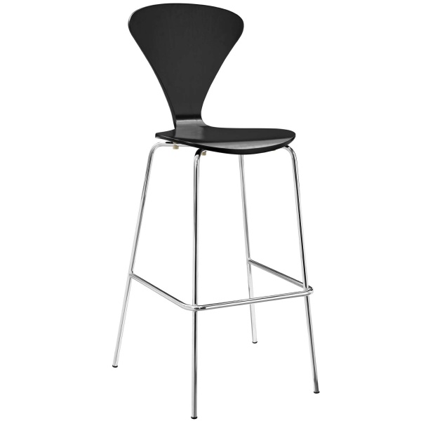 Passage Dining Bar Stool Black