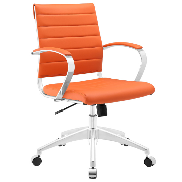 Jive Mid Back Office Chair Orange
