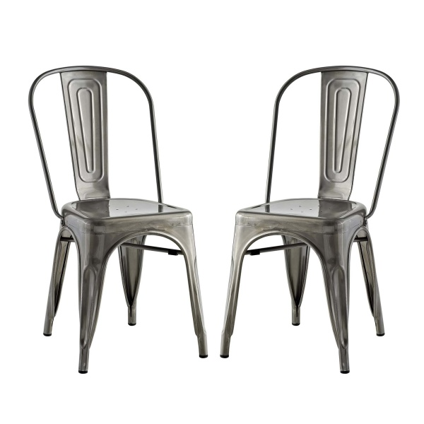 EEI-2749-GME-SET Promenade Dining Side Chair Set of 2