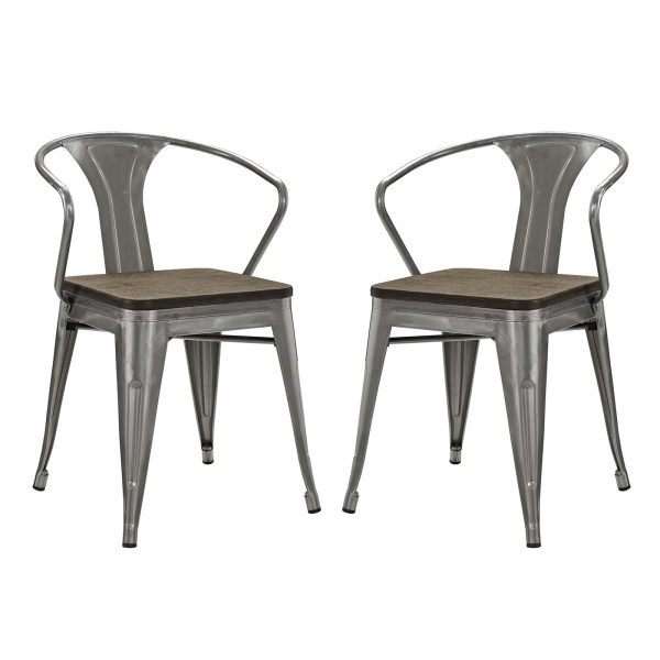 Promenade Bamboo Dining Chair Set of 2
