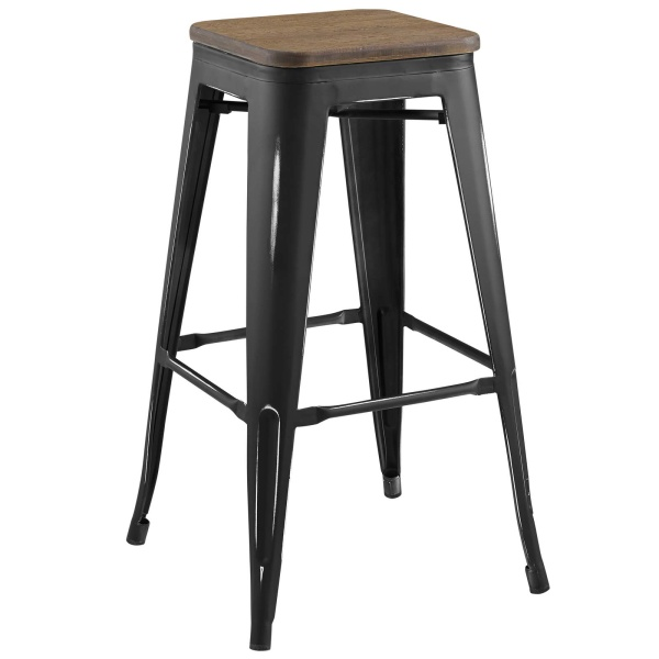 Promenade Bar Stool Black