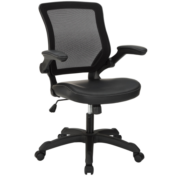 Veer Vinyl Office Chair Black