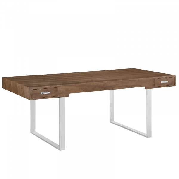 EEI-293-WAL Tinker Office Desk in Walnut