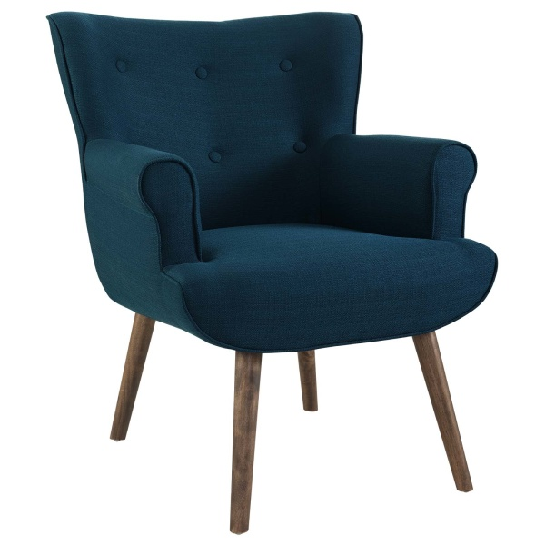 Cloud Upholstered Armchair Azure