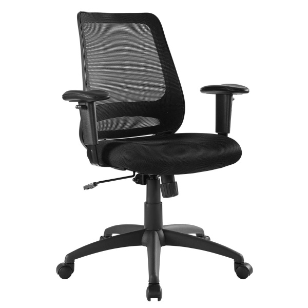 Forge Mesh Office Chair Black