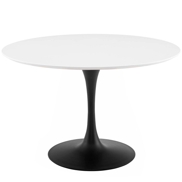 "Lippa 47"" Round Wood Dining Table"