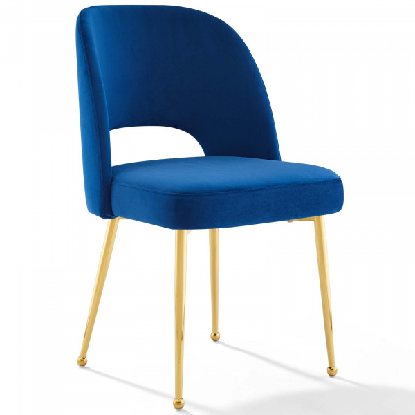 Rouse Dining Room Side Chair Navy