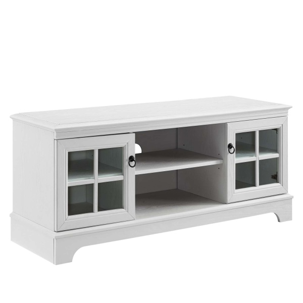 "EEI-4657-WHI Pacific 47"" TV Stand White"