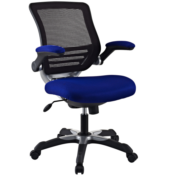 Edge Mesh Office Chair Blue