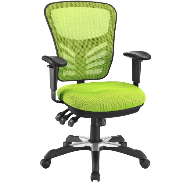 Articulate Mesh Office Chair Green