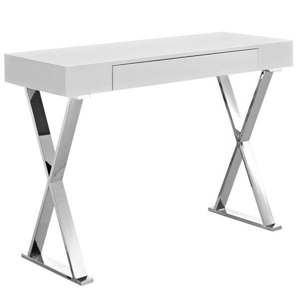 EEI-2048-WHI-SET Sector Console Table