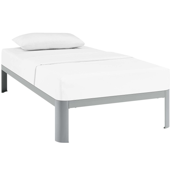 Corinne Twin Bed Frame Gray