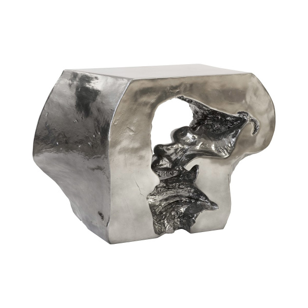 PH95579 Plateada Hollow Console, Liquid Silver