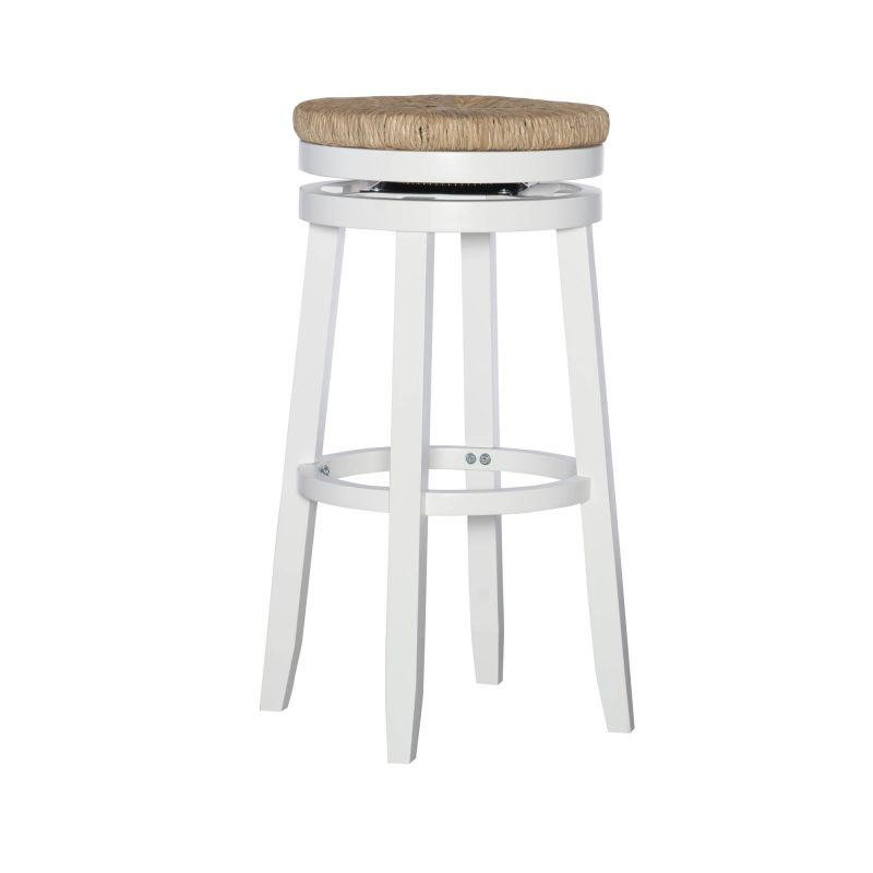D1124B17BS Morgan Barstool White