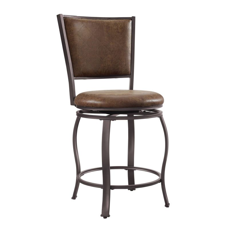 D1167B18CS Jackson Counter Stool Brown
