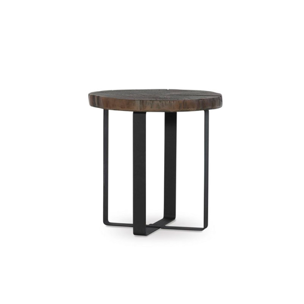 D1171A18A Cypress Side Table Ash