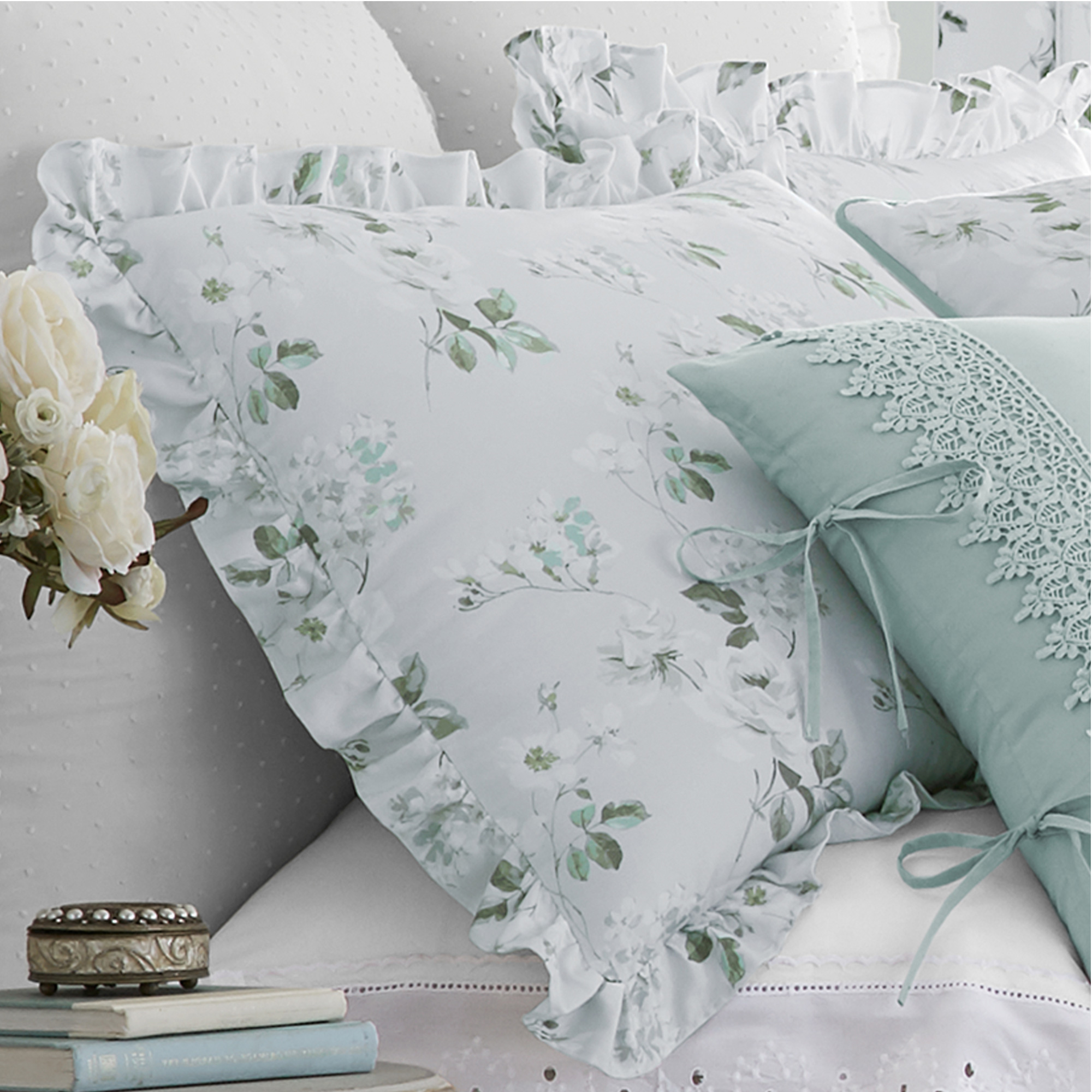 Eva Spa King 4 Piece Comforter Set