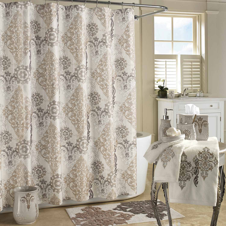 Galileo Natural Shower Curtain