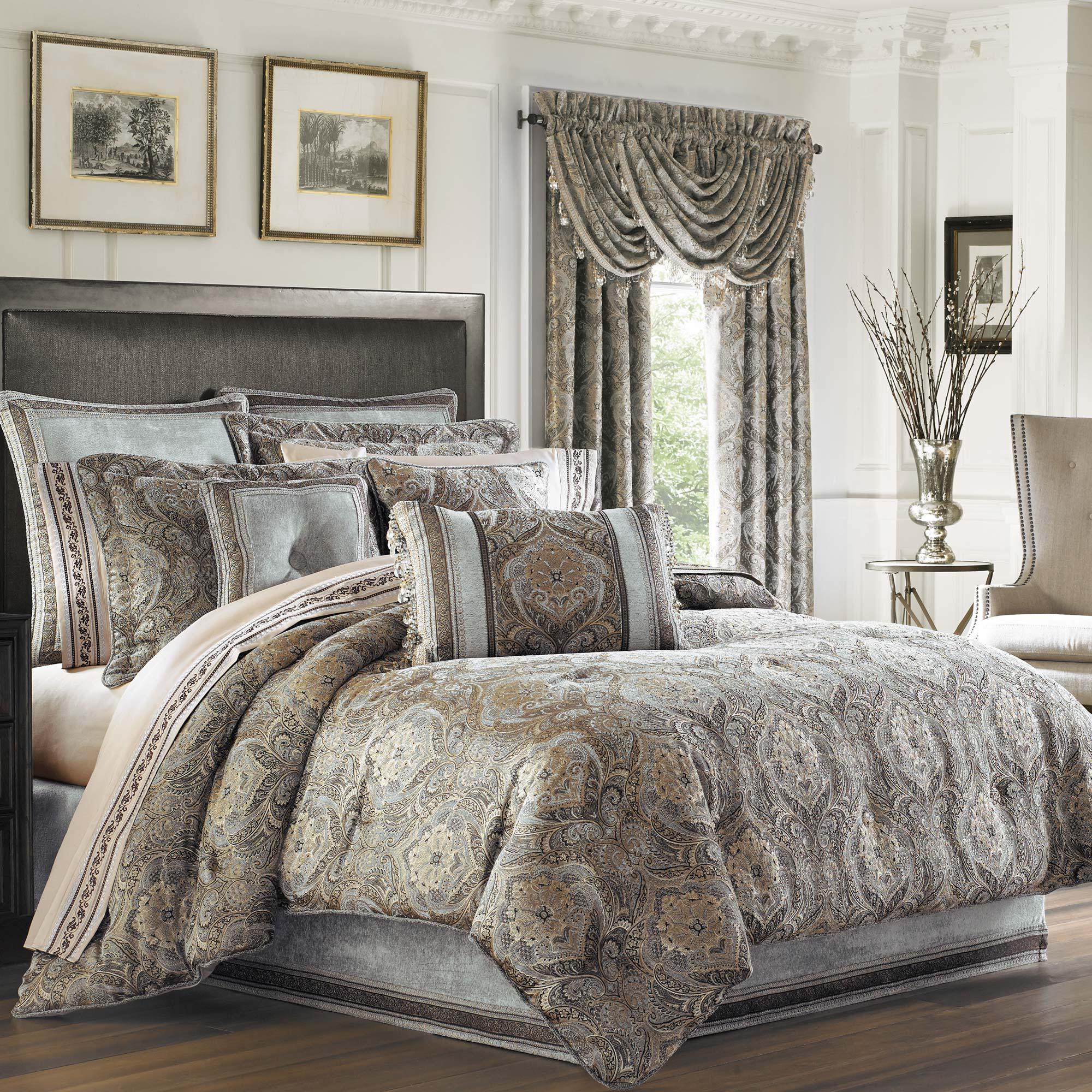 provence stone queen 4 piece comforter set