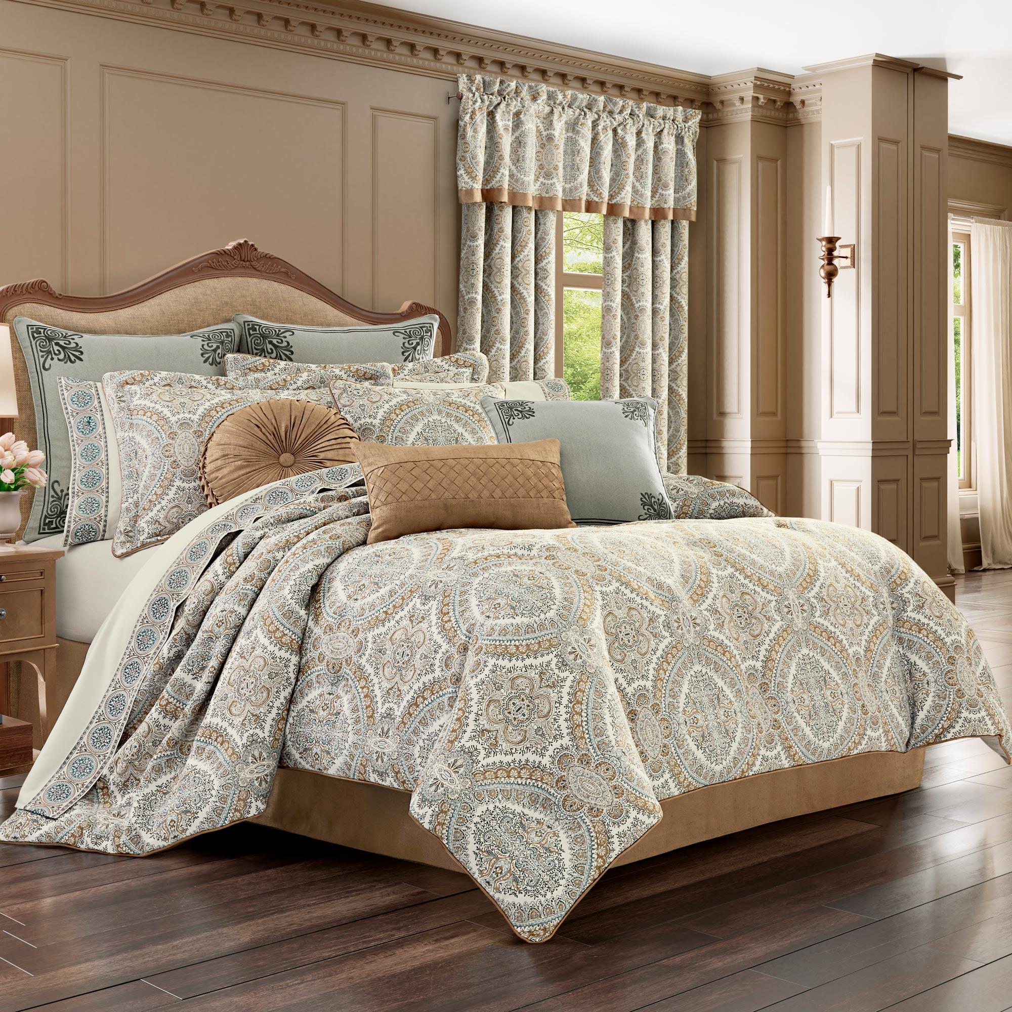 sorrento queen 4-piece comforter set