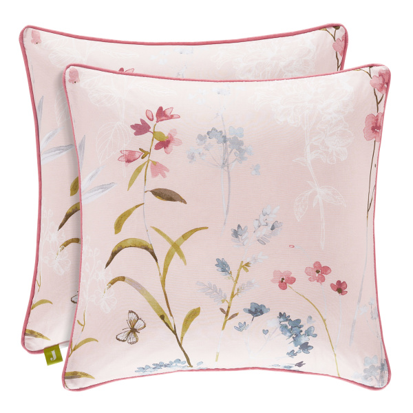 "Beatrice Rose 18"" Square Pillow"